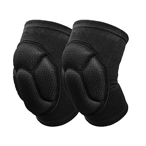 Makerfire Knieschoner Knee Pads-schwarz Thick Sponge Collision Prevention Kneepad Anti-Slip Volleyball MTB Knee Pad Protector