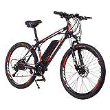 DDFGG Vélo électrique vélo électrique vélo de Montagne vélo de 26 Pouces avec Batterie 36v 8ah, avec Suspension et Fourche Avant Frein à Disque léger pneus Tout-Terrain vélo électrique VTT