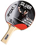 Fox TT Silver 2 Star Table Tennis Bat - Red