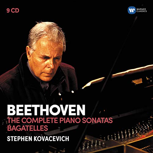Stephen Kovacevich - Beethoven : The Complete Piano Sonatas / Bagatelles