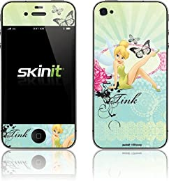 girly blue tinkerbell iphone case