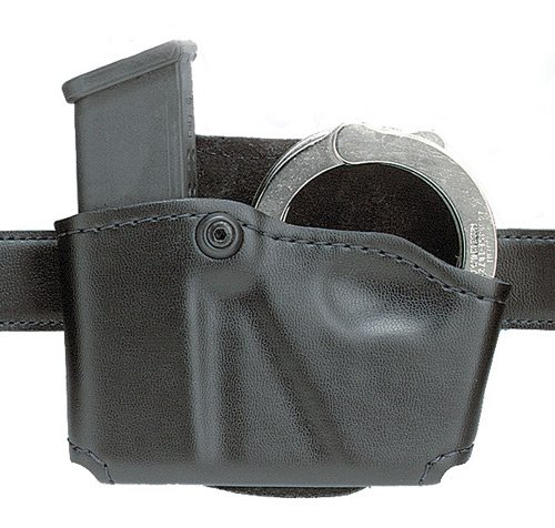 Why Should You Buy Safariland 573 Glock 17 22 Open Top Paddle Magazine Pouch with Handcuff Case
