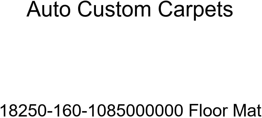 Auto Our shop OFFers the best service Custom Carpets Floor Japan's largest assortment Mat 18250-160-1085000000