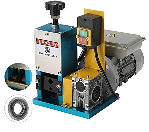 CO-Z Automatic Electric Wire Stripping Machine, Scrap Cable Stripper for Scrap Copper Recycling, Compact & Portable Aluminum Alloy Construction, Extra Blade Included, 1.5mm-25mm