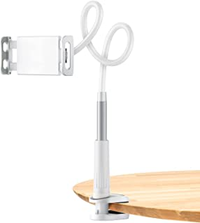 SmartDevil Phone Holder Lazy Stand Mount with Sturdy Aluminum Alloy Arm 360 Adjustable Clamp for iPhone 12 mini/12/12 pro ...