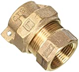Standard Plumbing Supply 313-275NL LEGEND VALVE AND FITTING T-4305 No Lead Copper Tube Size Pack Joint with Female Iron Pipe Water Service Coupling Socket, 1'