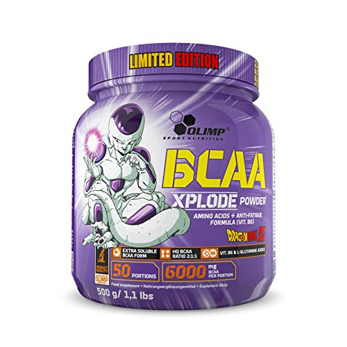 Olimp BCAA Xplode Powder Amino acids + Anti-Fatigue Formula (VIT. B6) Forest Fruit - Dragon Ball Limited Edition! !