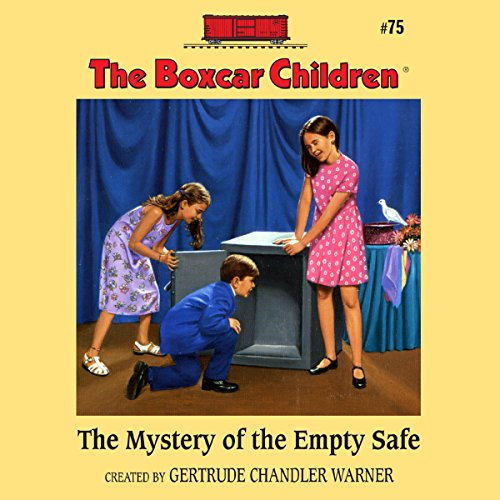 The Mystery of the Empty Safe cover art