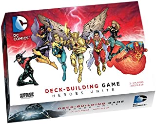 Cryptozoic Entertainment DC Deck-Building Game: Heroes Unite