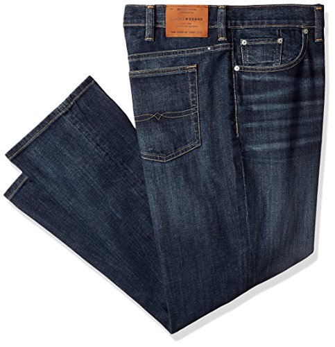 Lucky Brand Men's Big and Tall 410 Athletic Fit Jean, Cortez Madera, 42W X 32L