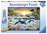 Ravensburger - Orca Paradise - 200 Piece Jigsaw Puzzle for Kids – Every Piece is Unique, Pieces Fit Together Perfectly,Multicolor,Pack of 1