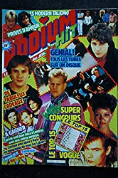PODIUM HIT 161 JUILLET 1985 JEAN-JACQUES GOLDMAN KAREN CHERYL SADE TELEPHONE BERGER HALLYDAY + POSTER BILLY IDOL