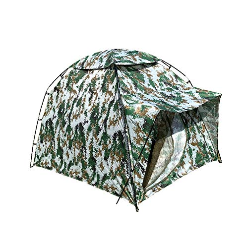 LiangDa Outdoor Tent Camouflage Single Camping Multi-person Tent Thickened Tent Outdoor Camping Tent (Color : Camouflage, Size : Ordinary)