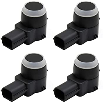 uxcell a17041000ux0034 Black 20908127 PDC Bumper Parking Distance Reverse Sensor w Rubber O-Ring Fit for GM