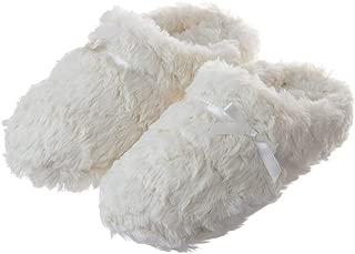 white slipper shoes
