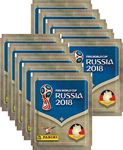 Panini WM Russia 2018 - Sticker - 10 Tüte