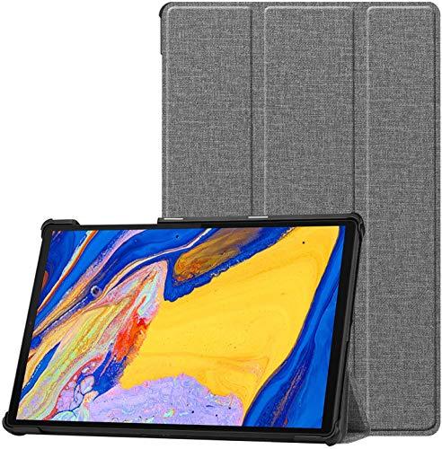 HoYiXi Funda para Lenovo Tab M10 HD (2nd Gen) 10.1 Pulgadas Tableta 2020 Estuche de Tableta con Función de Soporte Funda Cover para Lenovo Tab M10 HD (2nd Gen) 10.1 2020 TB-X306X/TB-X306F - Gris