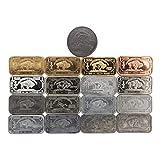 The Full Monty 17 x 1 Gram Buffalo Metal Ingot Set. Includes Tantalum Indium Niobium++