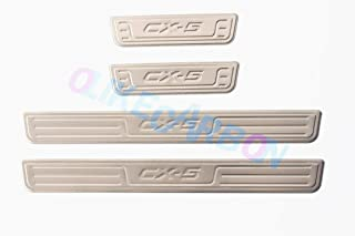OLIKE for Mazda CX-5 CX5 2013-2016 Door Sill Scuff Plate Guard Sills Protector Trim B# (NOT for 2017)