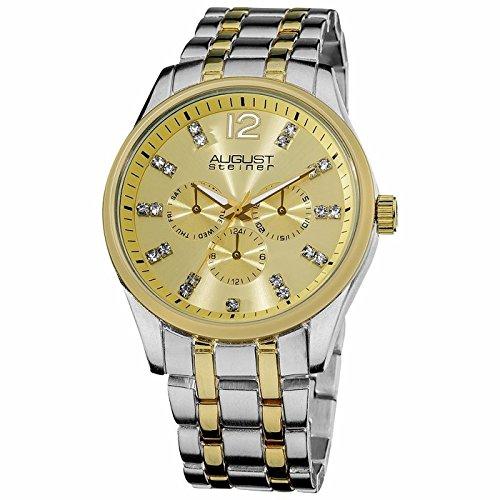 August Steiner August Steiner Zweifarbig Multi-Funktions Quarz Armband Watch AS8068TT