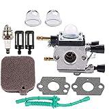 Carburetor Air Filter Tune Up Service Kit Fits Stihl Blower BG55 BG85 BG 55 BG45 BG46 BG65 BR45C SH55 SH85 Replace 4229 1200 606 Carb