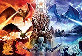 Buffalo Games - Game of Thrones - Fire & Ice - 2000 Piece Jigsaw Puzzle