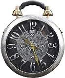 Wttfc Bolsa de Trabajo de Reloj Real Mujeres, Artesanía Moda Diagonal Bolsos del Bolso del Bolso de Alarma, 1