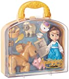 Disney Animators' Collection Belle Mini Doll Play Set - 5 Inch