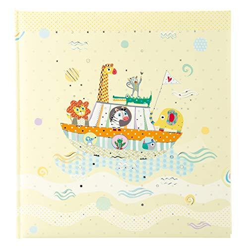 goldbuch Babyalbum, Arche Noah, 30 x 31 cm, 60 weiße Seiten, 4 Seiten Textvorspann, Kunstdruck, Mehrfarbig, 15460