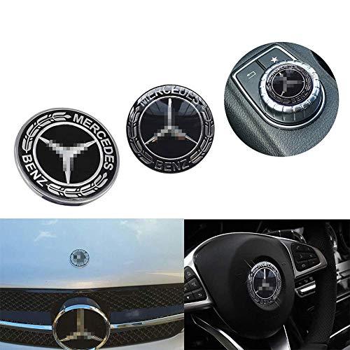 L&U Insignia de Emblema de Estrella de capó de vehícul