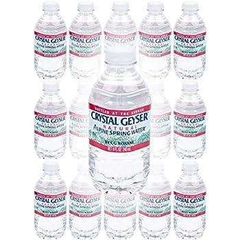 Crystal Geyser Water Purified Water 8 Fl Oz  Pack of 15 Total of 120 Fl Oz