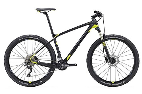 Giant XTC Advanced 3 27, 5 Zoll Mountainbike Schwarz/Grün (2016), 39