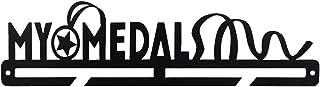Medal Holder Display Hanger Rack Medals Brown Medal Holder Wall Mount MyMedals Multiple Medal Frame Holds Upto 24-30 Medal...