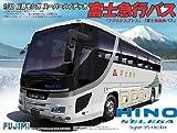 especificacioen del bus Hino BUS8 Selega SHD Fuji Kyuko modelo de Fujimi serie bus turistico 1/32