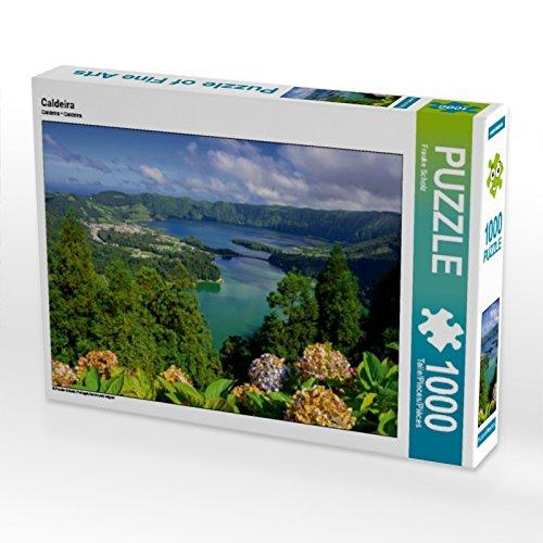 Produktbild CALVENDO Puzzle Caldeira 1000 Teile Lege-Größe 64 x 48 cm Foto-Puzzle Bild von Frauke Scholz