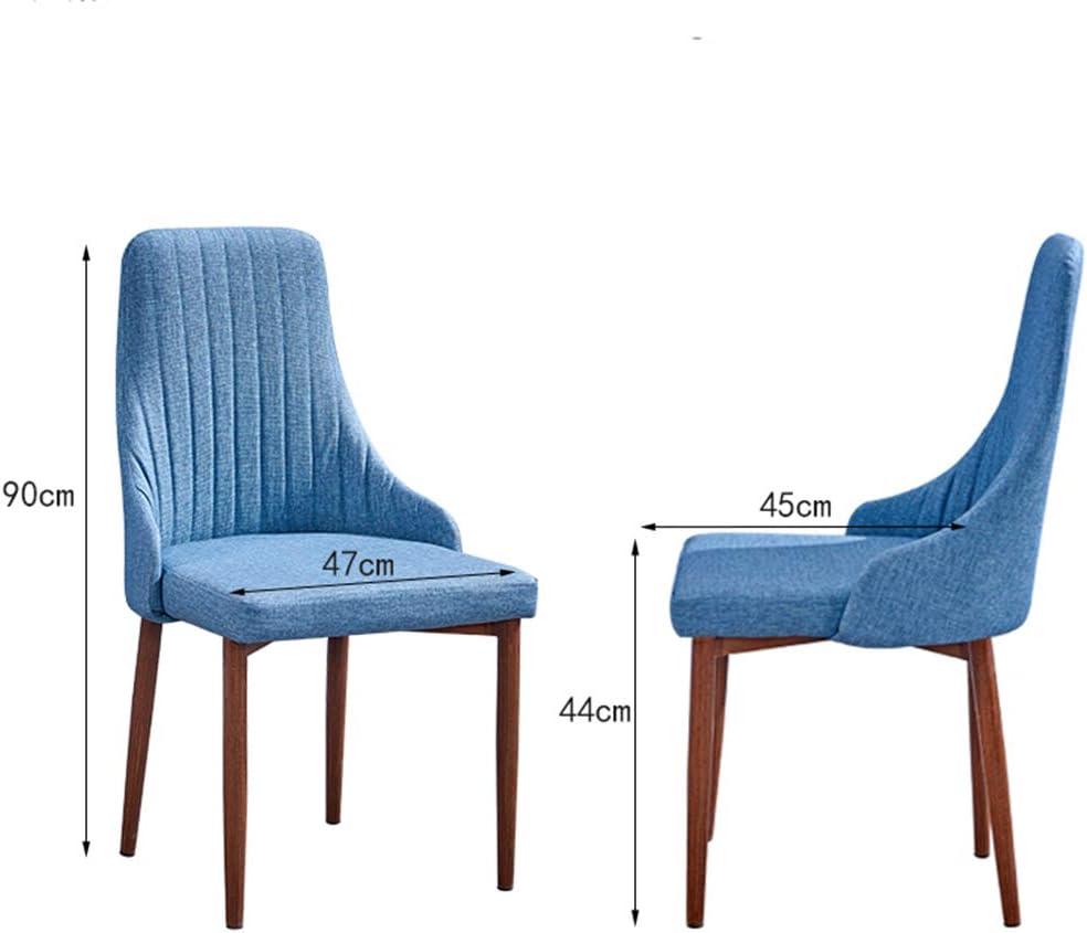 Lxn Simplicité Moderne Cuisine Salle à Manger chaises Faux Cuir Coussin côté Chaise avec Jambes en Bois de Bois d'imitation Solide pour Home Hotels Office - 1PCS Yellow#1