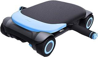 DLT 4-hjulskärna fitness ab-skoter med glidskumhandtag, Quiet Core Coaster magtränare, stort handtag, lätt att montera (fä...