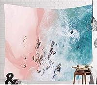 ホーム寮の壁の装飾のタペストリーブルーシーホットマンダラタペストリーヒッピーホーム装飾の壁掛けボヘミアビーチマットヨガマットベッドカバー150 * 100