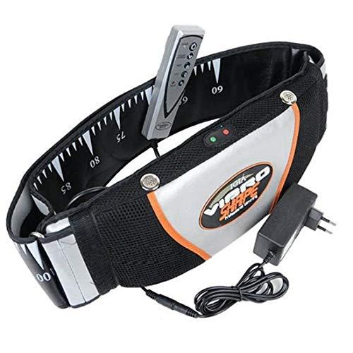 Formulaone Cinturón de Sauna para Bajar de Peso Quemador de Grasa Cuerpo Anti Celulitis Adelgazar los Cinturones de Calor Desaparecer rápidamente Productos para Adelgazar - Negro