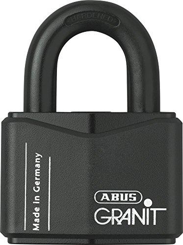 ABUS 43118 Vorhängeschloss, schwarz, 70mm