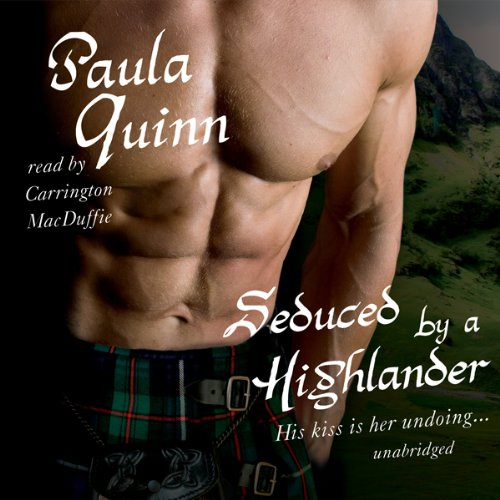 Seduced by a Highlander audiobook cover art