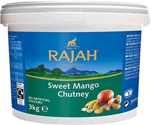 Rajah Mango Chutney, süß, 1er Pack (1 x 3 kg Packung)