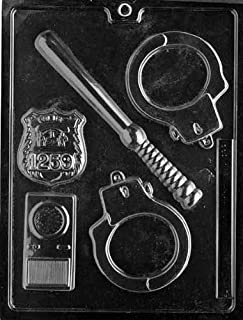 Life of the Party J078 Policeman Set Chocolate Candy Mold