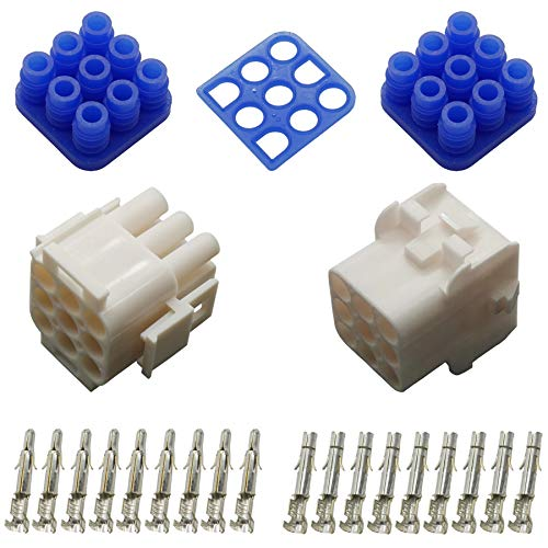 Stecker Set Steckverbinder gedichtet Universal Mate N Lok 9-polig und Kontakte