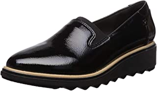 women's patent leather work shoes