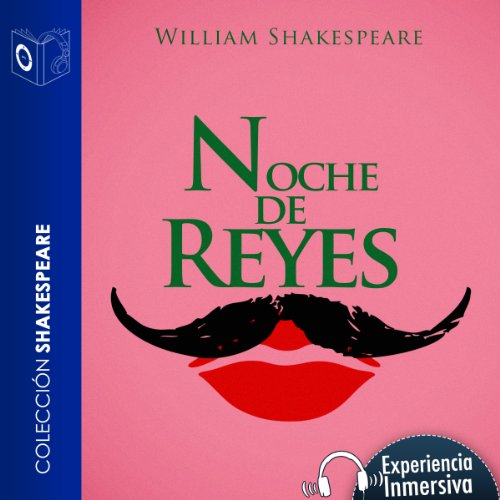 Noche de reyes [Twelfth Night] audiobook cover art