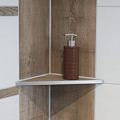 ABLAGO® Design befliesbare Duschablage Badezimmer Fliesen Ablage Edelstahl Regal, Abmessungen:W220 310x220x220mm
