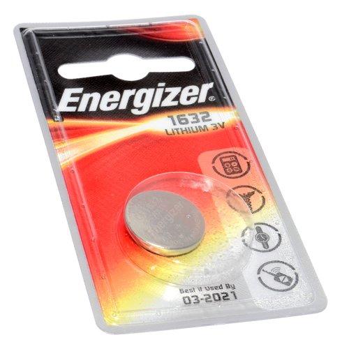 Energizer Célula Botón Batería CR1632 3V 1 Empacar