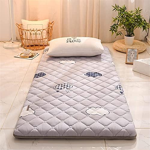 Colchones Colchón de tatami plegable para adultos única doble antideslizante, estera de piso, almohadilla, siesta, japonés, futón, colchones para la sala de estar dormitorio Textiles del hogar