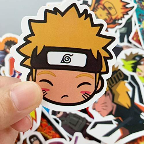 Naruto Pegatinas Del Pegatina De Parachoque 49 Naruto Sticker Hd Vinilos Para Ordenador Port/átil Maletero Del Coche Monopat/ín De La Guitarra Im/án De Mochila Decal Pegatinas De No Vulgares